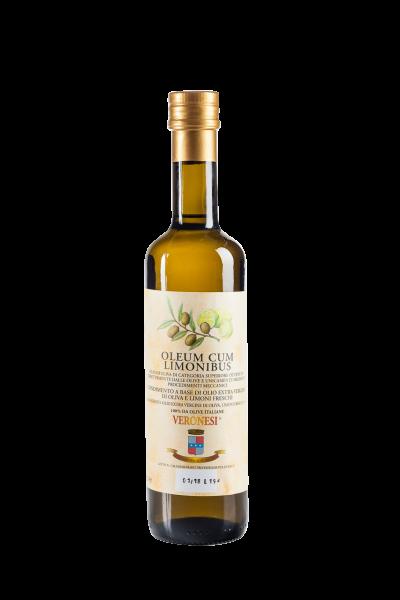 Natives Olivenöl mit Zitrone Veronesi