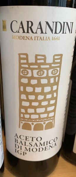 Balsamessig aus Modena Torre Oro Carandini 250ml
