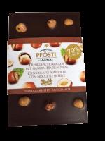 Dunkle Schokolade mit ganzen Haselnüssen-Geschenke