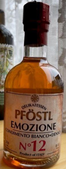 Emozione - Condimento Balsamico Bianco Denso - Pföstl 500ml