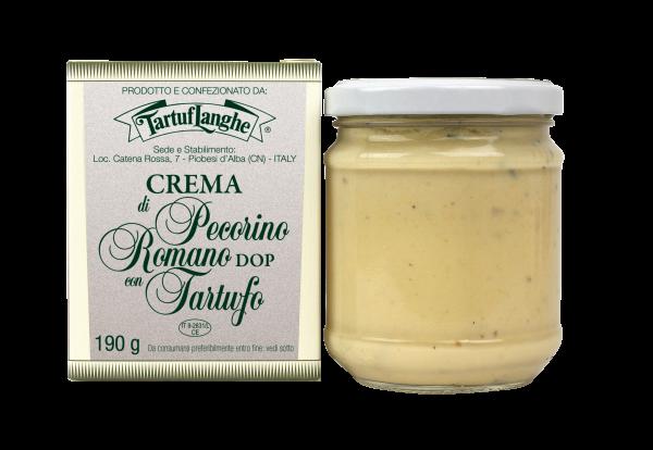 Crema con Pecorino Romano DOP TartufLanghe