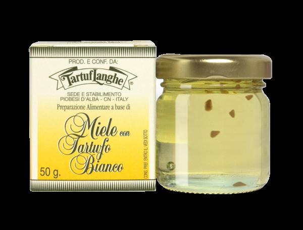 Honig mit weißem Trüffel TartufLanghe