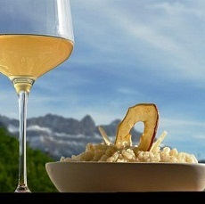 Rezept: Risottino mit Südtiroler Bergapfelsaft Pinova