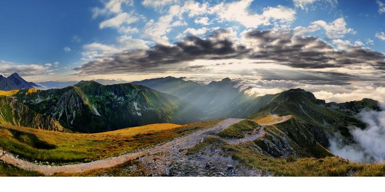 "Spruch des Tages: ""Erklimme die Berge und spüre die gute Energie"