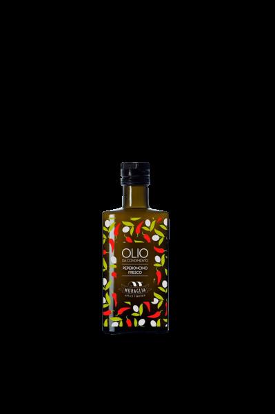 Olivenöl mit Peperoncino 200ml Muraglia