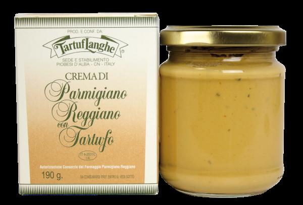 Crema di Parmigiano Reggiano con Tartufi Tartuflanghe