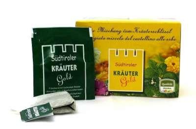 Kräuter Gold Teebeutel BIO Südtiroler Kräuter Gold