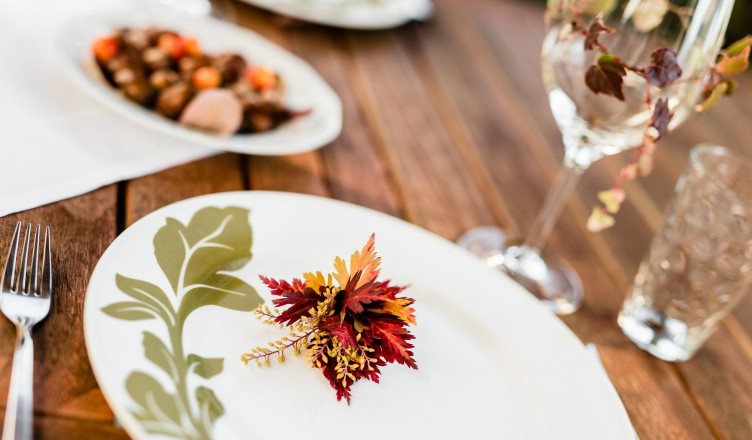 Anleitung: herbstliche Blüten zum Selbermachen