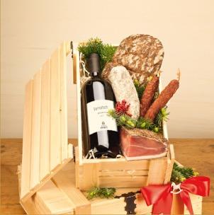 Das Beste aus Südtirol in der Holzkiste-Geschenke