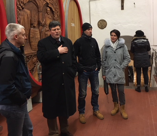 Kloster Muri - Gries: Der Weingeist