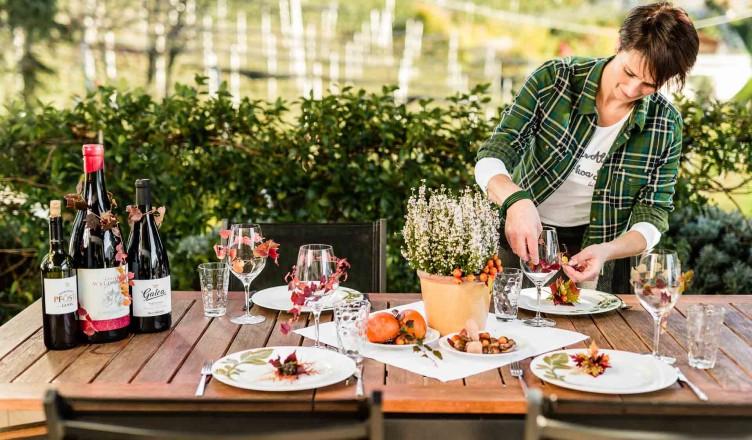 Herbstliche Tischdekoration zum Selbermachen...
