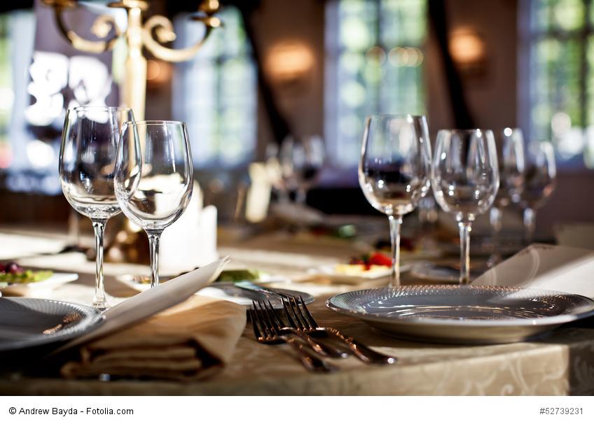 Tisch decken: Die Grundregeln