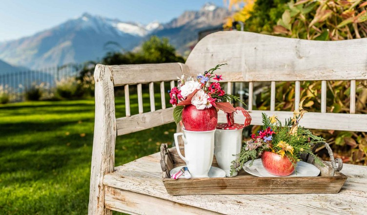 Herbstliche Deko mit dem Südtiroler Apfel...