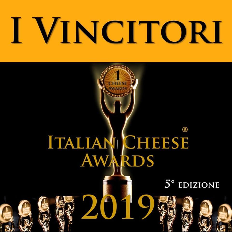 Auszeichnungen Italien Cheese Award 2019 Bester Weichkäse Italiens