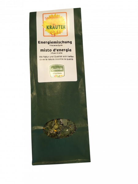 Kräuteraufguss Energiemischung BIO Südtiroler Kräuter Gold
