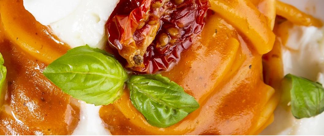 Rezept: Spaghettone Napoli von Chef Andrea Ribaldone