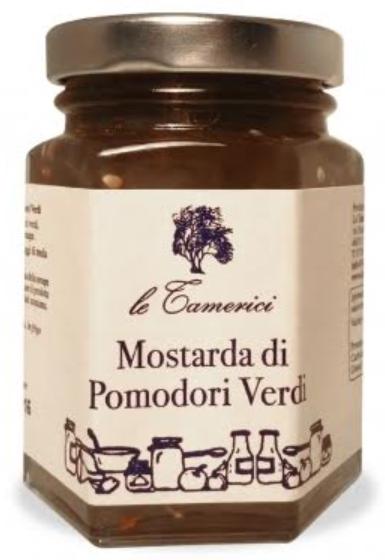 Grüne Tomaten Mostarda - Le Tamerici