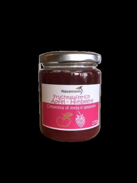 Fruchtaufstrich Apfel Himbeere Hausmannhof