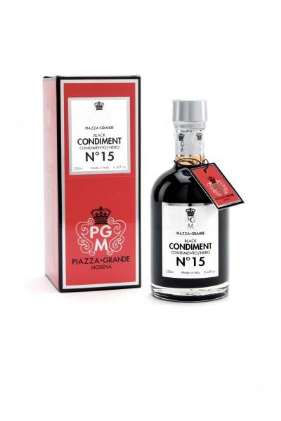 Balsamico - Condimento Nr. 15 rote Geschenkebox 250ml PIAZZAGRANDE