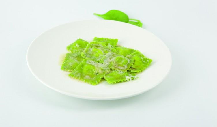 Rezept: Spinatravioli mit Ricotta-Kräuterfüllung