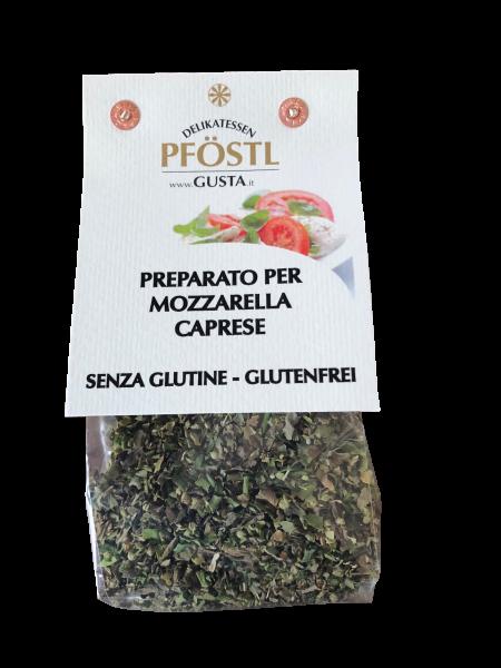 Gewürz für Mozzarella und Tomaten