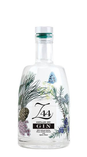 Z 44 Distilled Dry Gin 2018 World Spirits - Gold International